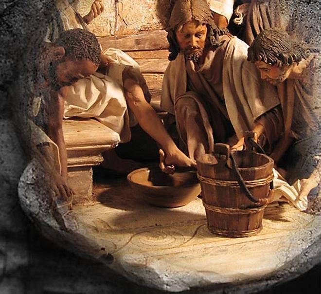 Angela Tripi terracotta Gesù